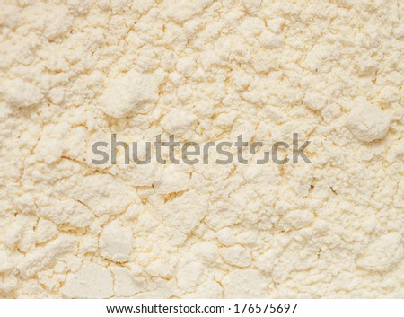 Gluten free flour - stock photo