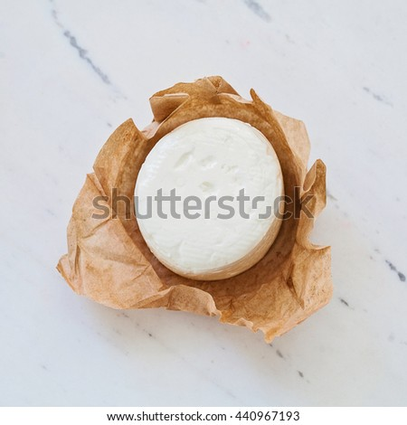 goat cheese - stock photo