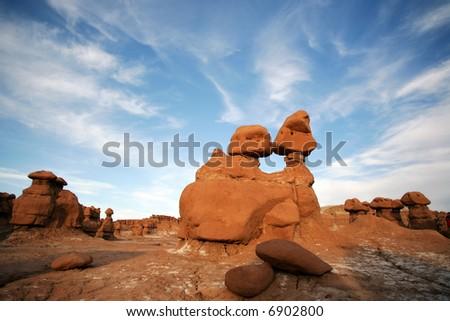 Goblins National Monument, Utah - stock photo