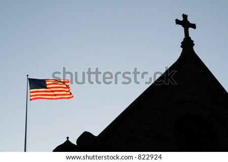 God Bless America - stock photo