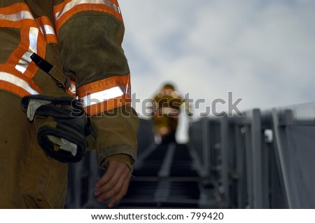 going up - stock photo