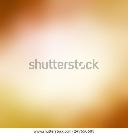 gold and rust red background with white center, faded soft blurred background with gradient color and dark borders - stock photo