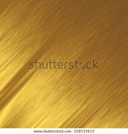 gold background shiny metal texture lines pattern - stock photo