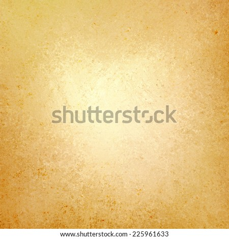 gold background with vintage grunge background texture design, old gold paper, distressed worn texture - stock photo