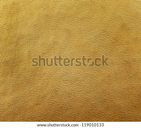 gold brown hardcover book, paper texture - stock photo