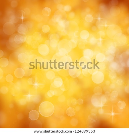 Gold celebration background - abstract party concept - stock photo
