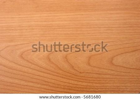 Gold cherry wood grain texture - stock photo