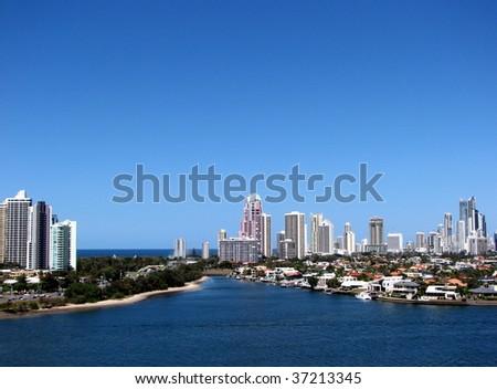 Gold Coast, Qld, Australia - stock photo