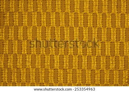 gold fabric - stock photo
