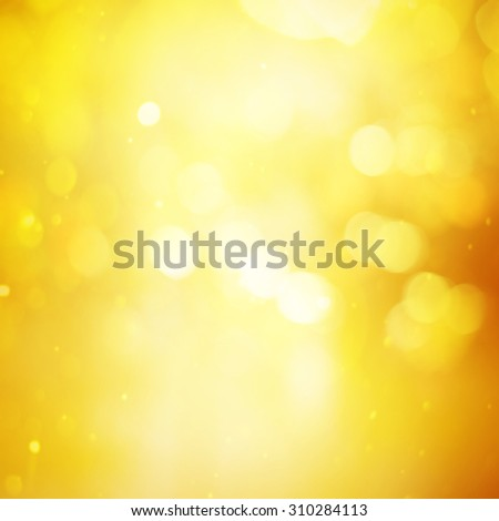 Gold Festive Christmas background. - stock photo