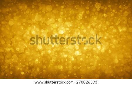 gold glitter background sparkles - stock photo