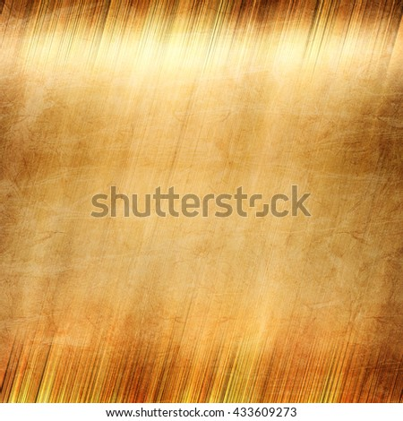 Gold. Gold metal. Golden texture. Polished gold. Gold Background. Golden metal background. Old gold. Metal texture. Golden Metal plate. Gold texture. Metal background. Polished metal. Metal texture - stock photo