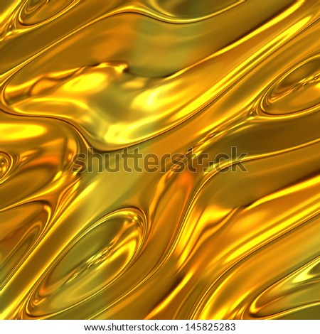 gold metal backgrounds - stock photo