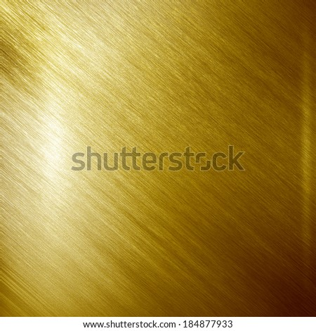 Gold metal texture. Industrial background - stock photo