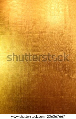 Gold metallic background. - stock photo