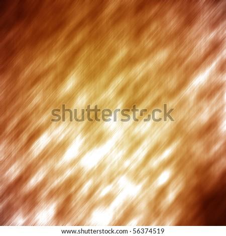 Gold or bronze metal texture - stock photo