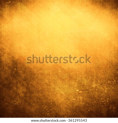 gold polished metal, steel texture - stock photo