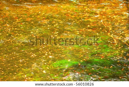 Gold Shimmer Background - stock photo