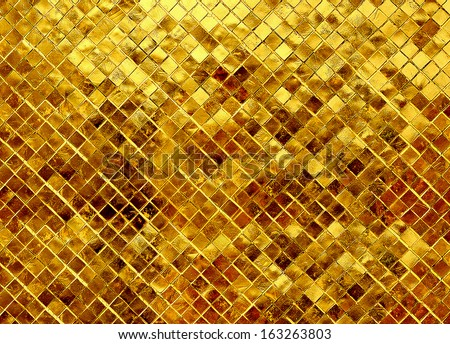 gold texture glitter background - stock photo