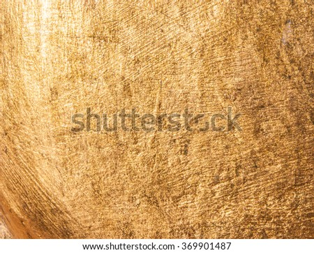 Gold texture wallpaper, golden paper glittering shining bright metallic yellow background pattern - stock photo