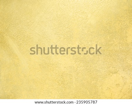Gold wall - abstract background texture - stock photo