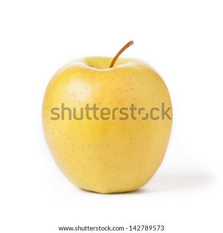golden apple - stock photo
