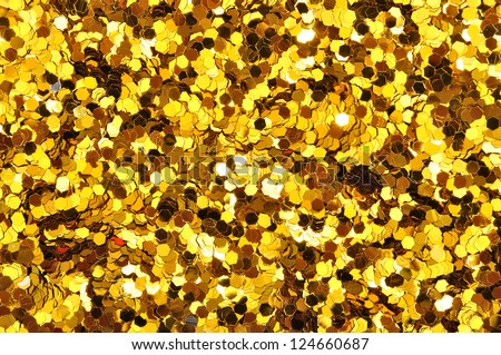 golden background - stock photo