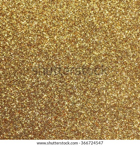 golden background shining yellow gold glitter - stock photo