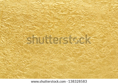 Golden background texture - stock photo