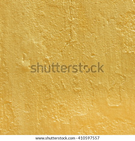 golden cement texture abnstract background - stock photo