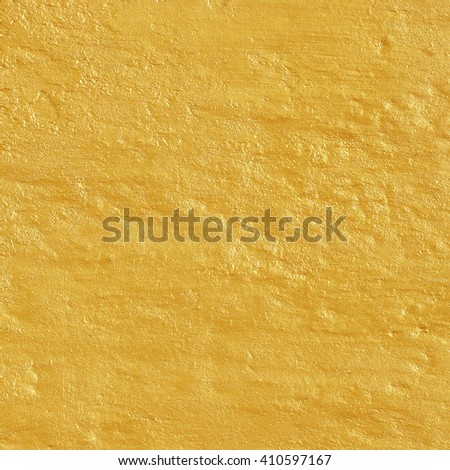 golden cement texture abstract background - stock photo