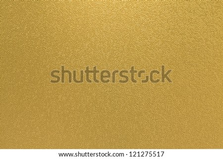 golden fine pattern Japanese paper - stock photo