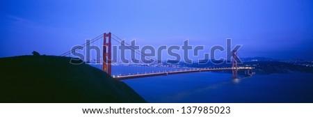 Golden Gate Bridge, San Francisco, CA - stock photo