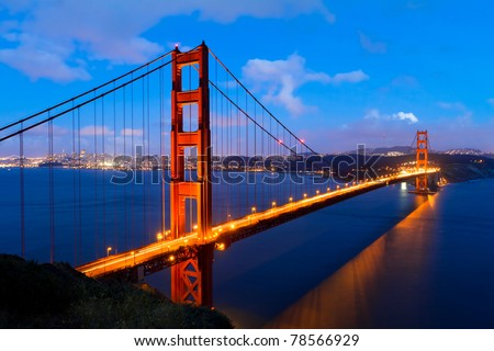 Golden Gate, San Francisco California - stock photo