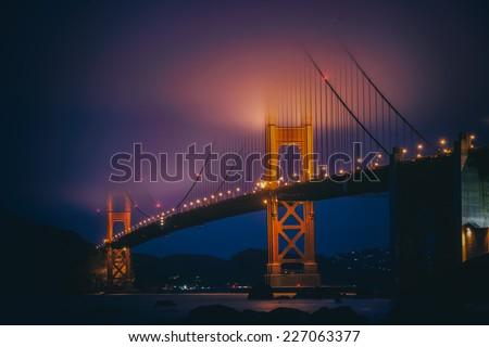 Golden Gate, San Frnacisco - stock photo
