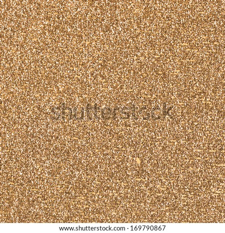 Golden Glitter Background - stock photo