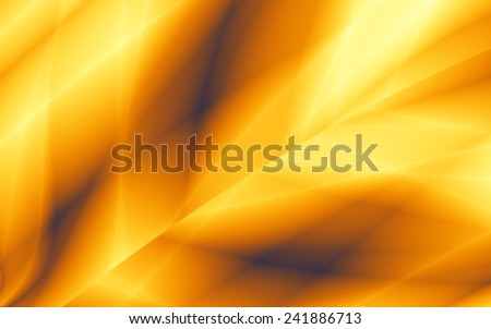 Golden leaf elegant texture abstract illustration background - stock photo