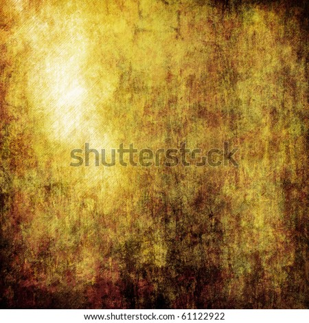Golden metal - stock photo
