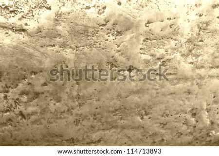 golden metallic texture - stock photo
