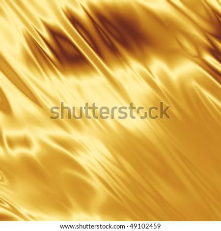 Golden shiny grunge - stock photo