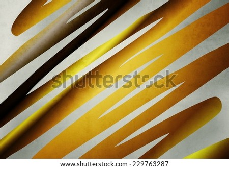 golden striped background texture - stock photo