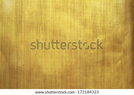 Golden surface for background - stock photo