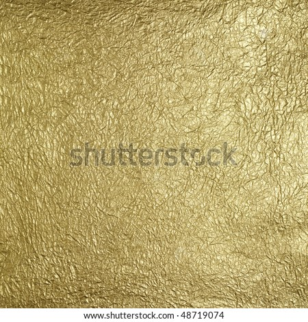 golden surface pattern - stock photo