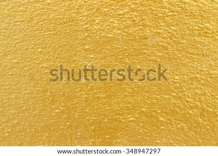 Golden wall background - stock photo