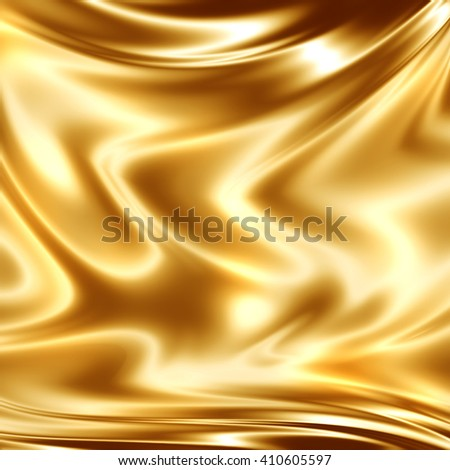 Golden yellow designers sketch - stock photo