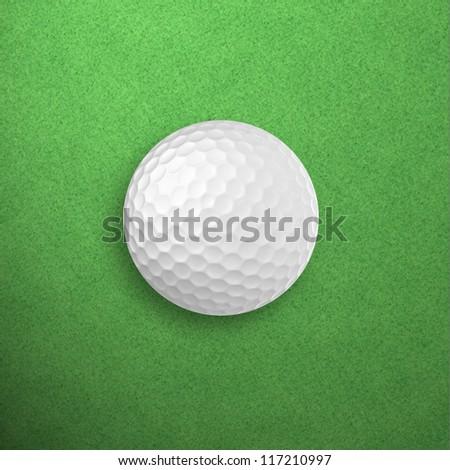 Golf ball - stock photo