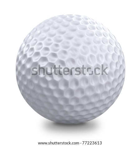 Golf ball - stock photo