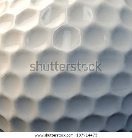golf ball skin close up - stock photo