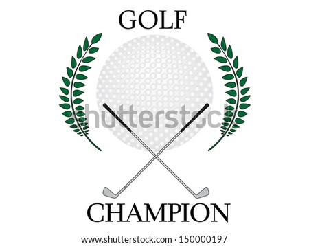Golf Champion 2 - stock photo