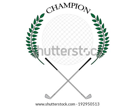 Golf Champion 3 - stock photo